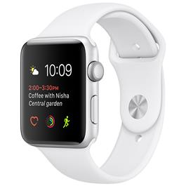 Apple smartwatch WATCH S1 42MM SIL ALU/WH BAND
